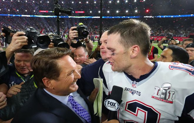 Tom Brady and the Bill Belichick-led Patriots have dominated the AFC East for nearly two decades. (Getty Images file photo)