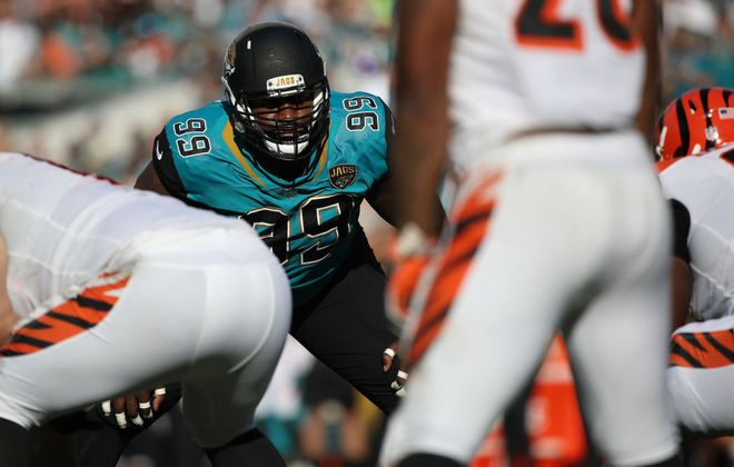 Defensive tackle Marcell Dareus. (Getty Images)