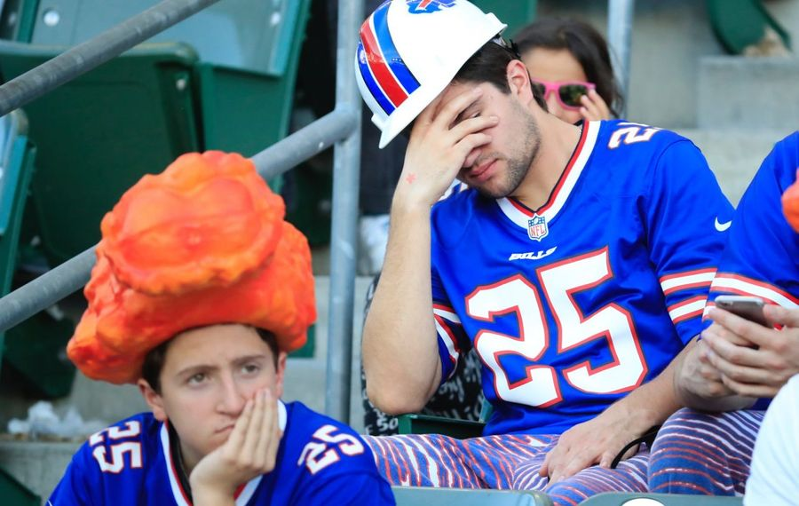 Bills fans have had their share of disappointing moments (Harry Scull Jr./News file photo)