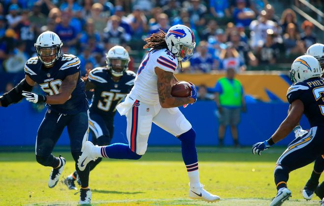 Kelvin Benjamin was first-round draft pick in 2014 for the Carolina Panthers. (Harry Scull Jr./Buffalo News)