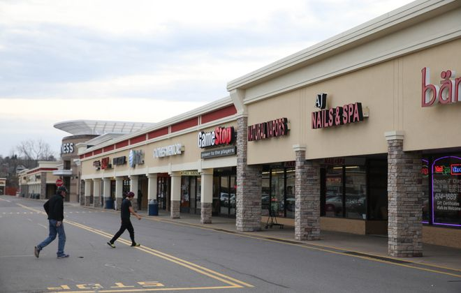 Southgate Plaza in West Seneca. (Sharon Cantillon/Buffalo News file photo)