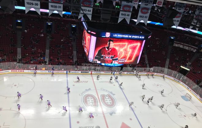 The Sabres and Canadiens take to the ice on Saturday, Nov. 25, 2017.  (John Vogl/Buffalo News)