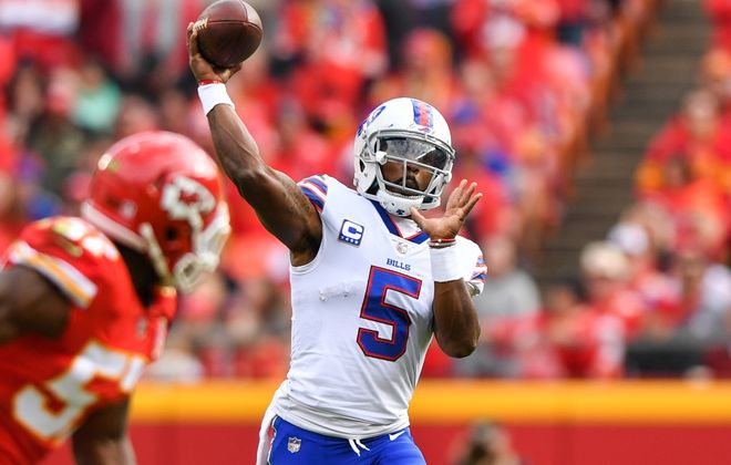Tyrod Taylor. Peter Aiken/Getty Images )