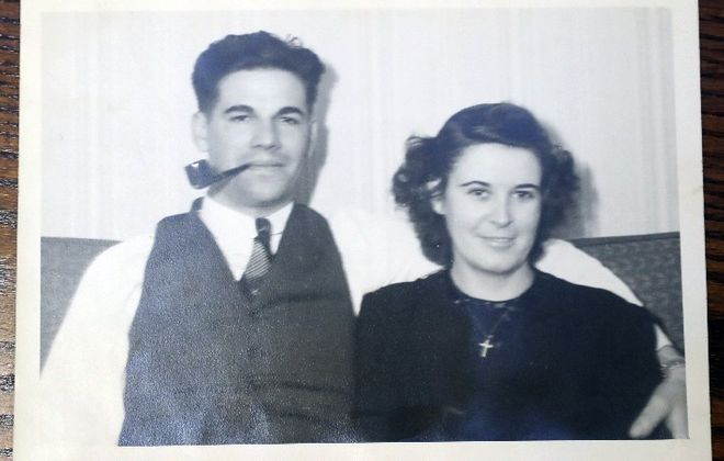 The sons of the late Arnold and Dorothy Young, shown in this family photo, are suing  the federal government over its denial of death benefits to Arnold Young's survivors.  (Photo courtesy of family)