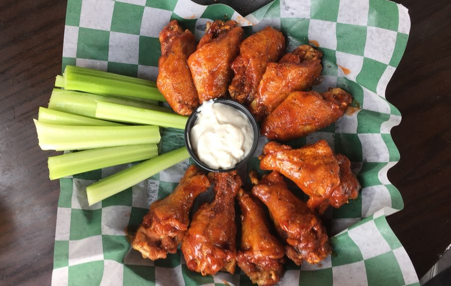 Chicken wings and blue cheese from Bar-Bill Tavern in East Aurora. (News file photo)