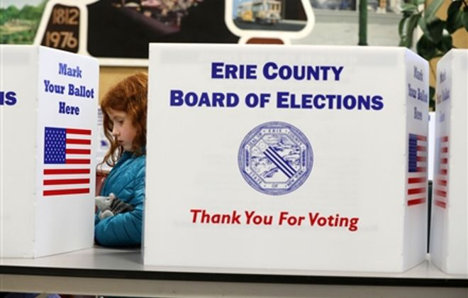 Election 2017: Erie County results updated 10 a.m. Nov. 8