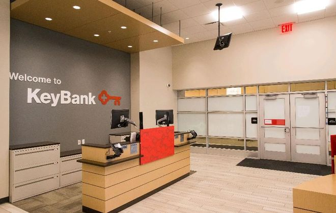 KeyBank branch in Conventus building. (Derek Gee/Buffalo News)
