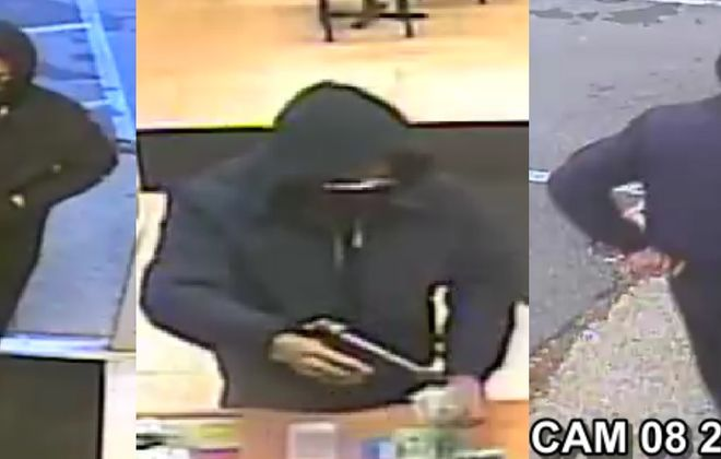 A man with a gun robbed The Corner Store on Delaware Avenue in Kenmore on Nov. 14. (Photo courtesy Kenmore Police)