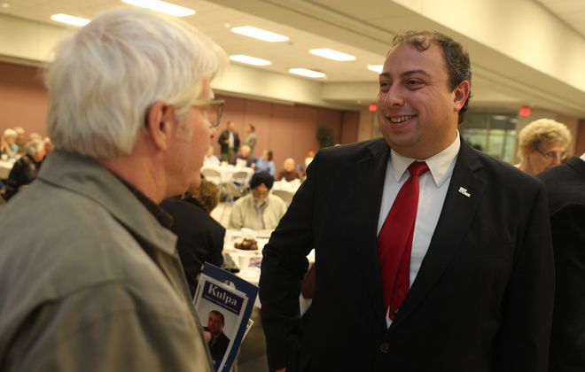 Williamsville Mayor Brian J. Kulpa will be the next Amherst town supervisor.   (John Hickey / Buffalo News)
