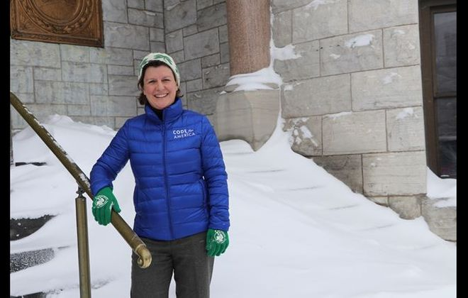 Syracuse Mayor Stephanie Miner: Mayor of nation's snowiest large city, on average, contemplates challenge of Andrew Cuomo for governor. (Photo courtesy Syracuse City Hall)