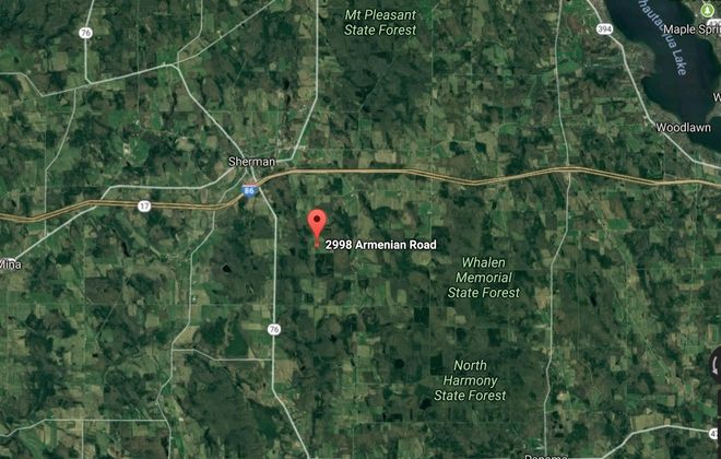 A Google view of the area in Chautauqua County where Wednesday's fatal shooting occurred. (Google image)