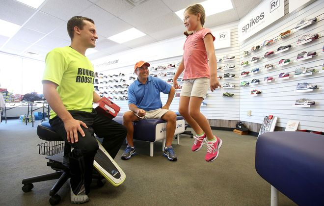 """Runner's Roost will keep its """"core values and traditions"""" and does not plan to make any changes in the way the store serves customers, according to new owner Michelle Fox. (Robert Kirkham/News file photo)"""