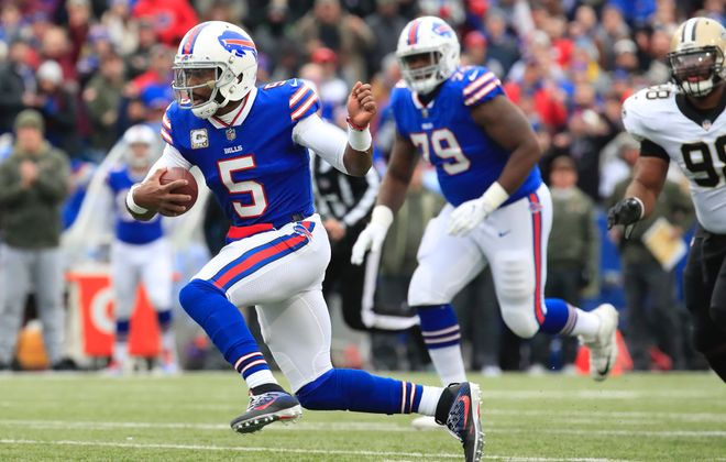 Tyrod Taylor. (Harry Scull Jr./Buffalo News)