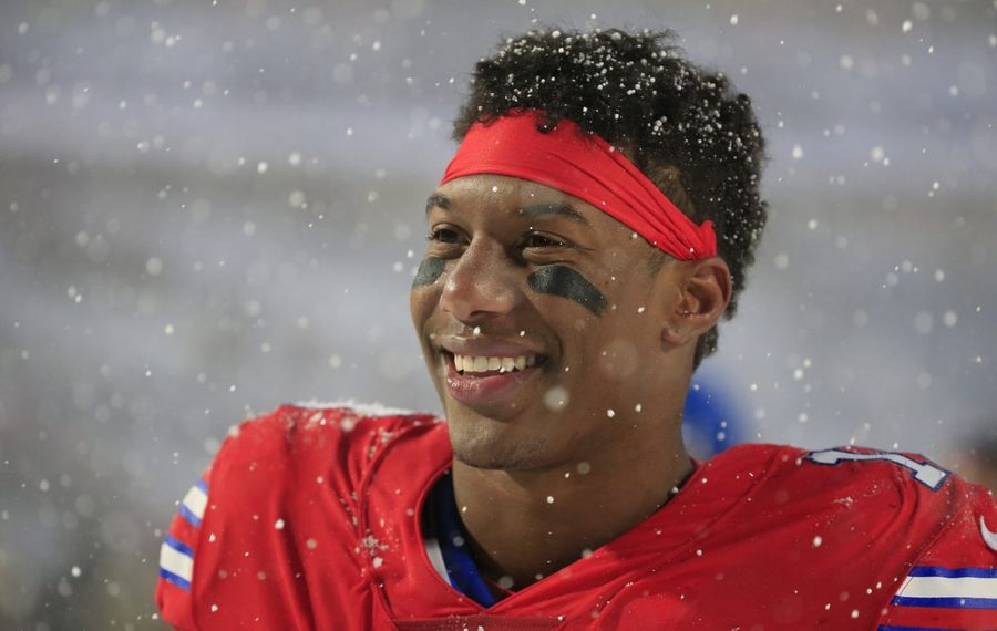 Bills receiver Zay Jones should see an expanded role in Year 2. (Harry Scull Jr./Buffalo News)