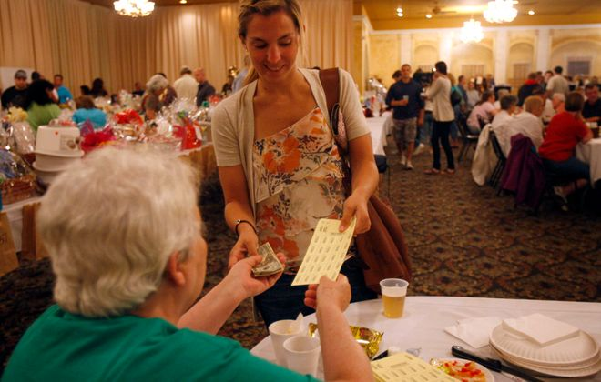 You won't have to pay cash for raffle tickets for nonprofit organizations much longer. (News file photo)