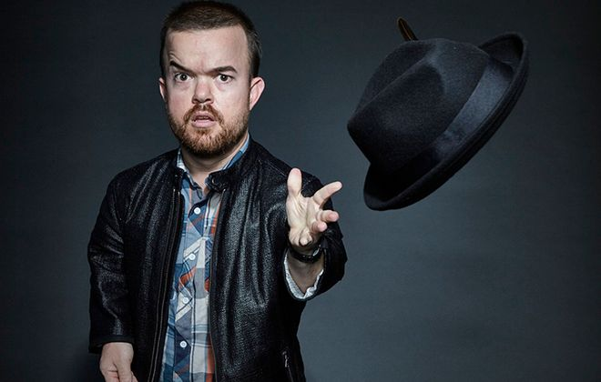 Brad Williams is set to headline Helium Comedy over four nights to close out 2017. (Courtesy of Brad Williams)