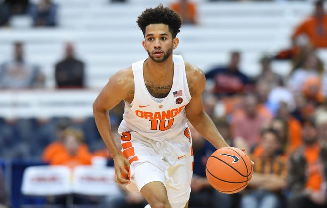 Former Canisius High player Howard Washington is finding his way with the Syracuse Orange. (Getty Images)
