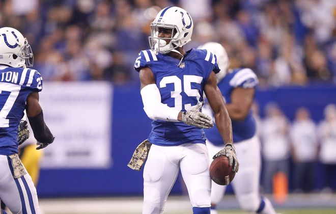 Pierre Desir of the Indianapolis Colts is out for the year. (Getty Images)