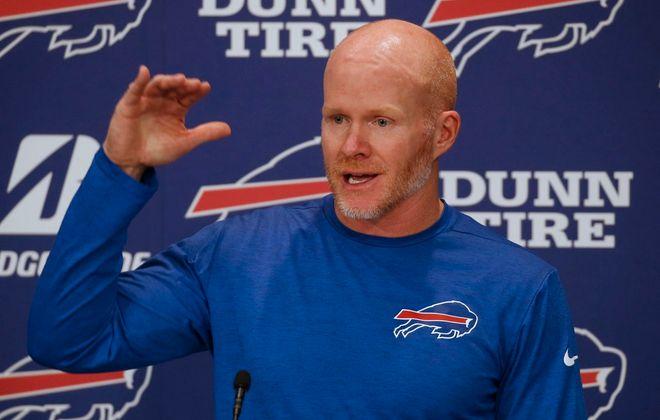 Buffalo Bills coach Sean McDermott. (Robert Kirkham/News file photo)