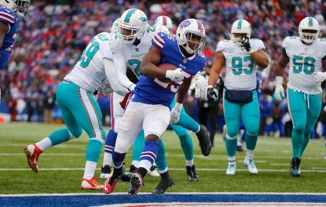 Buffalo Bills' LeSean McCoy. (Mark Mulville/Buffalo News)