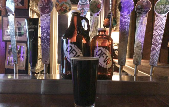 Old First Ward Brewing Company High & Rye is a new winter beer.
