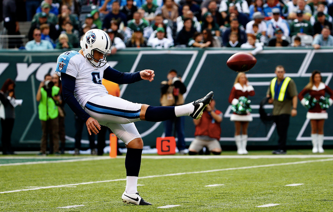 Titans punter Brett Kern has been one of the best players at his position in the NFL over the past few seasons. (Getty Images)