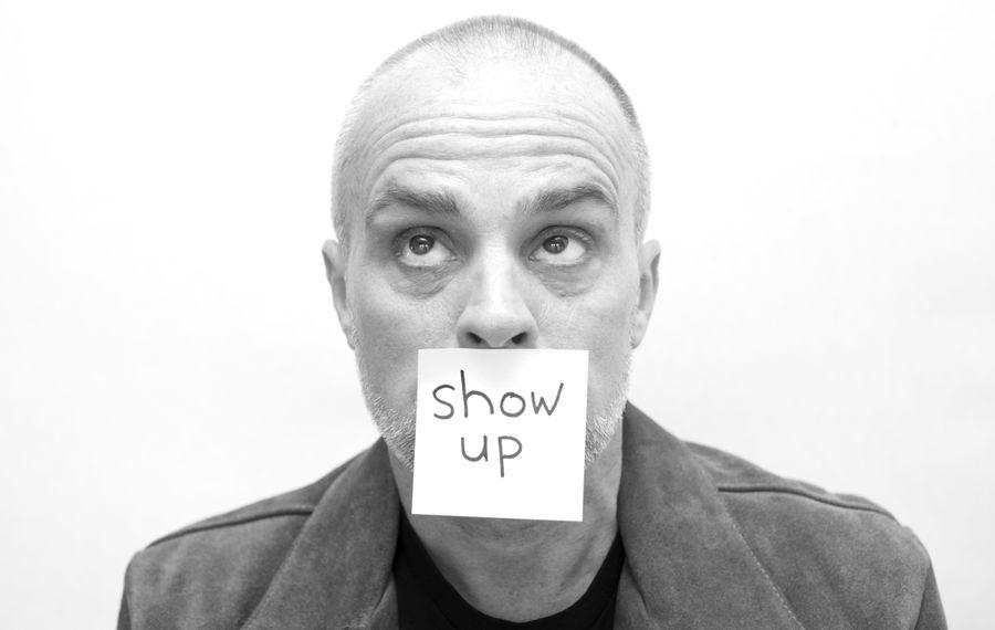 "Peter Michael Marino will perform his one-man improvisational show ""Show Up"" on Dec. 7 in Nietzsche's."