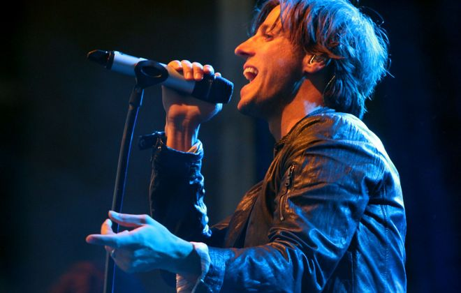 Raine Maida, lead singer with Our Lady Peace. (Photo by Robert Kirkham/Buffalo News file photo)