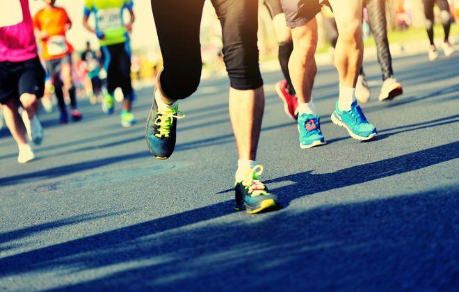 5k run at Galanti Park to promote domestic violence awareness