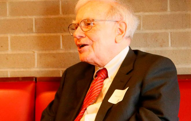 Warren Buffett.  (Derek Gee/Buffalo News file photo)