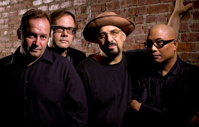 The Smithereens. Leader and songwriter Pat Dinizio (third from left) died on December 12 at the age of 62.