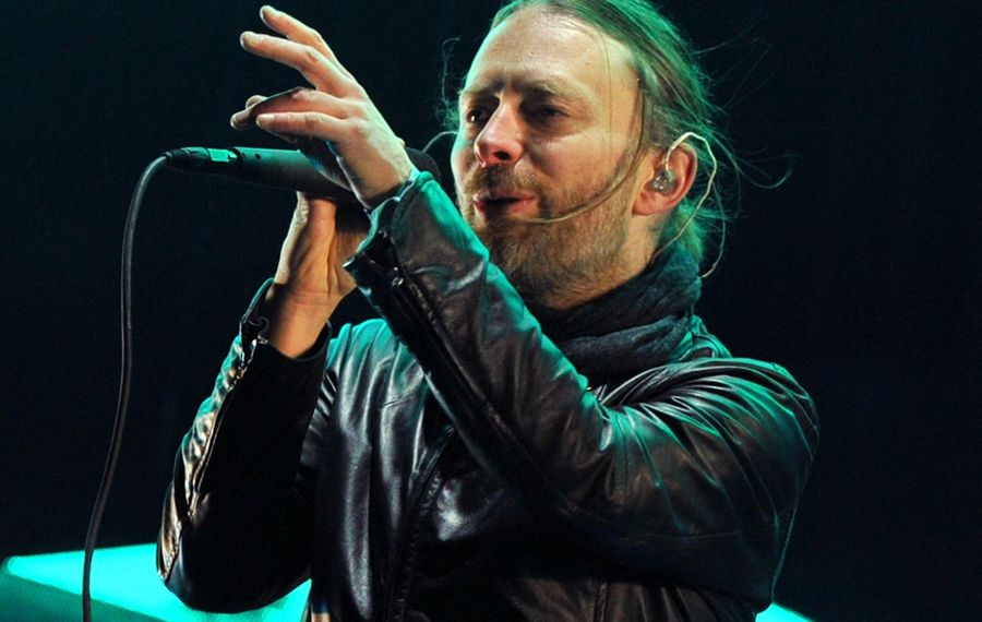 Thom Yorke of Radiohead.  (Getty Images)