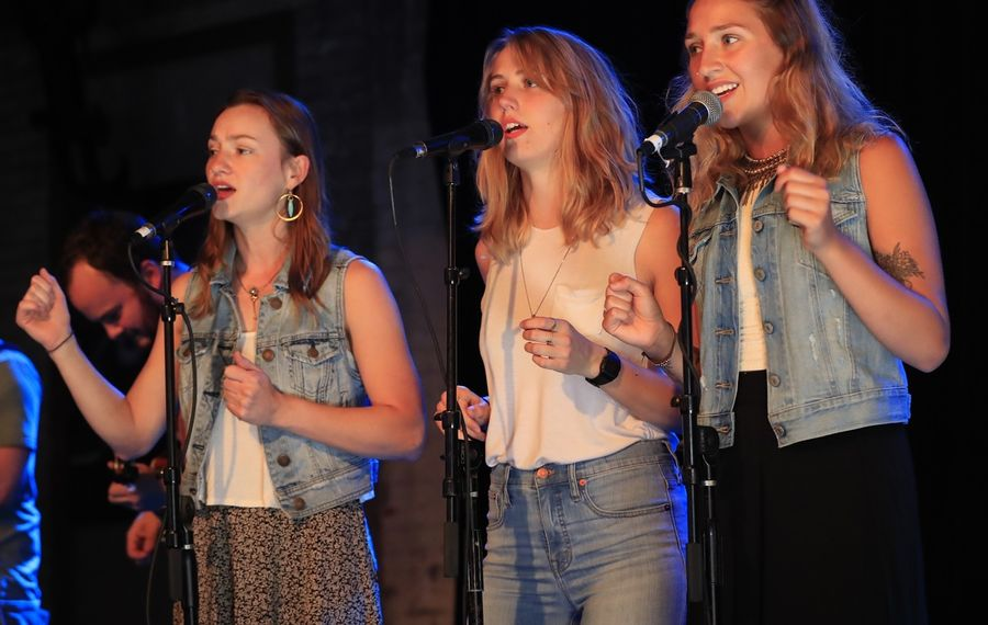 Hudson Valley-based Americana group Upstate Rubdown, who broke out during the inaugural Cobblestone Live, appear on this week's three shows. (Harry Scull Jr./News file photo)