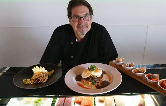 Chef Mike Andrzejewski is presenting a six-course dinner at Cantina Loco Nov 25. (Sharon Cantillon/Buffalo News)
