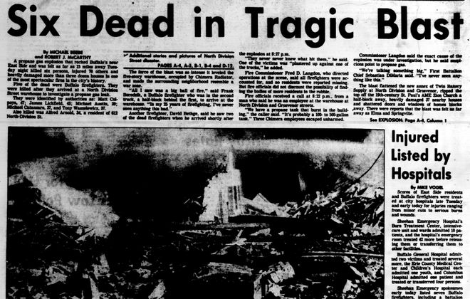 'Disaster on North Division': In 1983, six died in tragic propane explosion