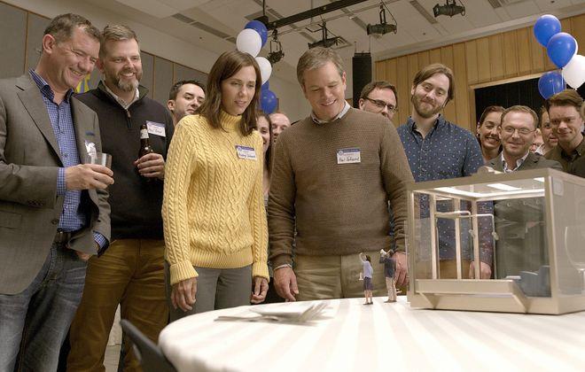 "Kristen Wiig and Matt Damon star in ""Downsizing."" (Paramount Pictures)"