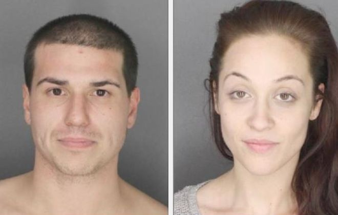 Jamie Cordon, 27, and Chelsea Jeffords, 25, both of Buffalo, are suspects in a robbery from the Eastern Hills Mall. (Photo courtesy of the Erie County Sheriff's Office)