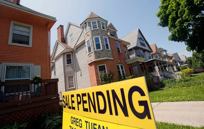 Home prices are on the rise as the number of available homes is shrinking. (Derek Gee/News file photo)