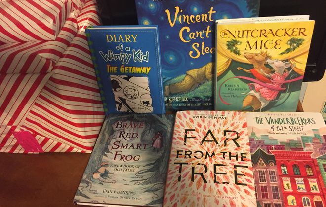 Holiday delights, classics-to-be among books for young readers