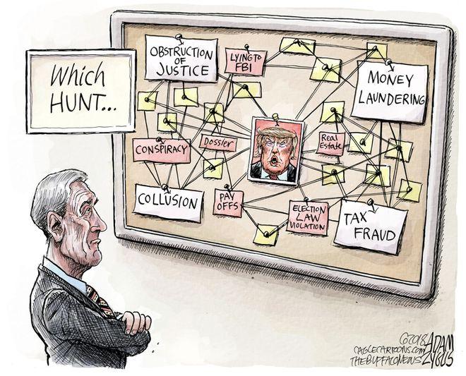 Mueller Investigation: March 22, 2018