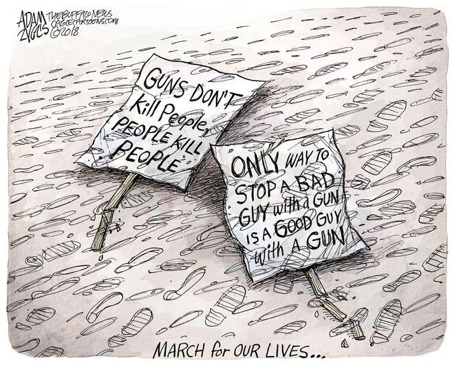 Dead Arguments: March 24, 2018