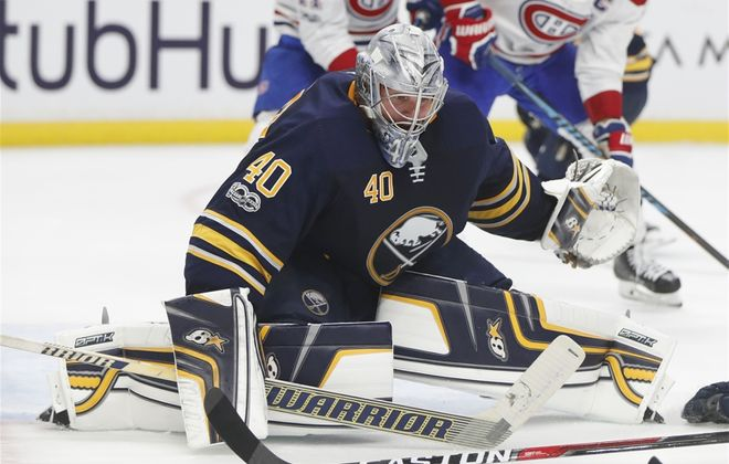 Robin Lehner says netminders can also be the cause of goaltender interference. (Mark Mulville/News file photo)