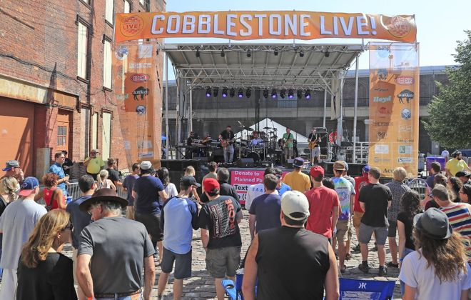 Cobblestone Live! returns to the Cobblestone district of downtown Buffalo with two days of music. (Harry Scull Jr./News file photo)
