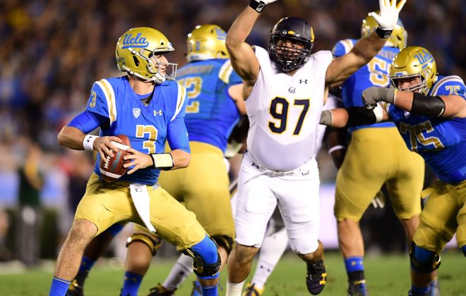 UCLA quarterback Josh Rosen has the footwork, mechanics and accuracy to be a successful pocket passer in the NFL. (Getty Images)