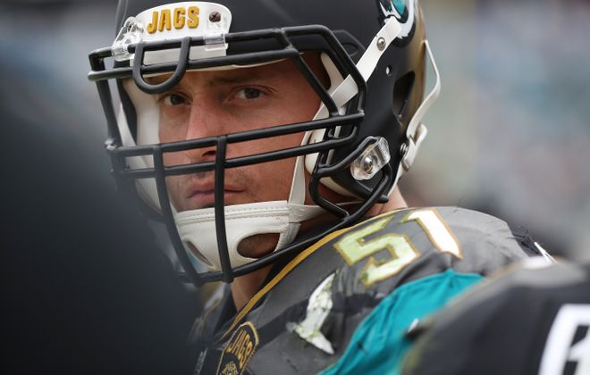 Paul Posluszny of the Jacksonville Jaguars  has announced his retirement (Logan Bowles/Getty Images)
