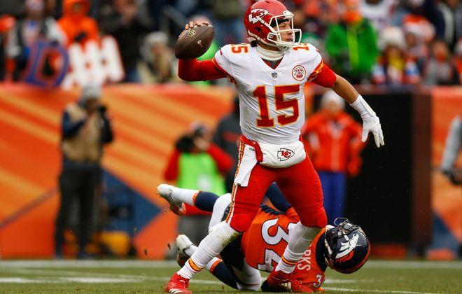 Kansas City Chiefs quarterback Patrick Mahomes (Getty Images)