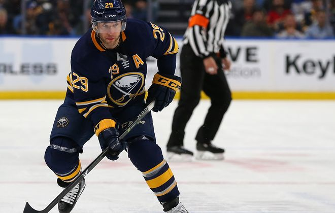 Jason Pominville scored a power-play goal for the Sabres. (Getty Images)