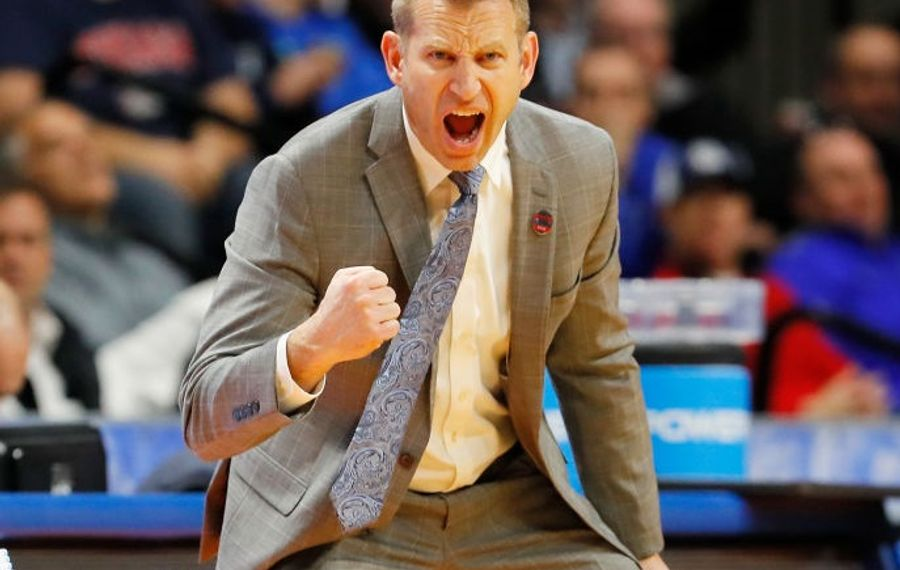 Alaama introduced former UB coach Nate Oats as its new coach Thursday in Tuscaloosa, Ala. (Getty Images)