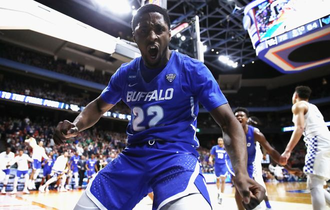 Dontay Caruthers and the Buffalo Bulls never backed down, even against a superior opponent like Kentucky.  (Getty Images)