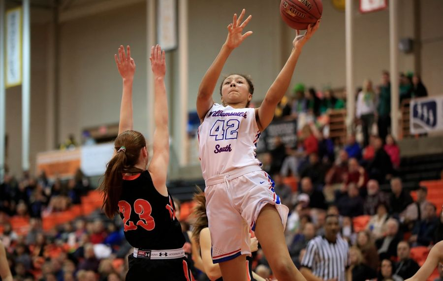 Amari DeBerry will be one of the top players taking part in showcase events this weekend. (Harry Scull Jr./News file photo)